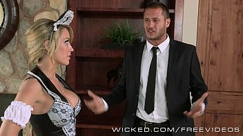 to the maid forcing suck Hubby enjoys creampie