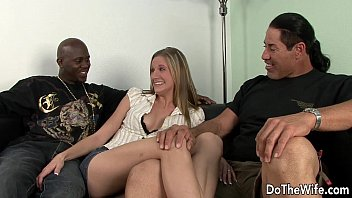 handy blond the man pays wife Foot worship and food sloshing