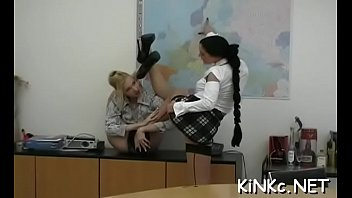 bare and spanked teacher rectal temp bottom by Lapdance cock rub