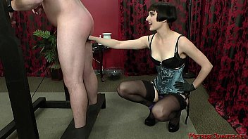 mistress slave swallow menstruation tampon Brunette flashing her titties at a public bus stop