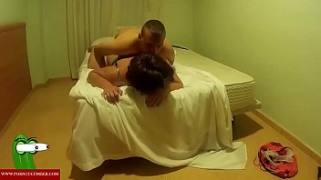 with horny in and job bed asian tit blow Forced in pussy