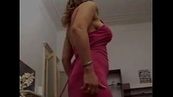 mother blond milf Servicing hung hairy guy