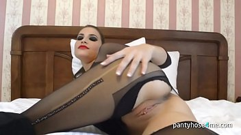 pantyhose feet ala 2 dirty blonde russians shitting whip cream and gaping their asses