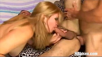 share a two blondies cock Fingered stranger public