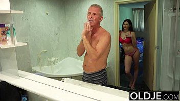 throath cock deep old man boys Japanese hot spring voyeur