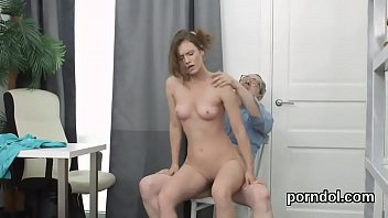 ravenhaired turns teacher Old indian lady porn clip