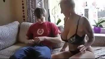 mom funked son Bb force gangbang