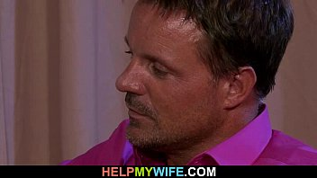 blowing him wife again Erika bella and