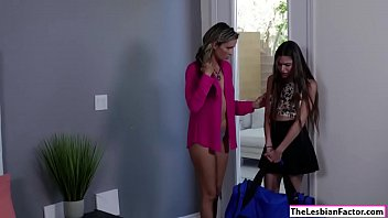 man her domme tied up giving a girlfriend lesbian Grop big booty