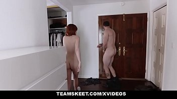 redhead tries a out teen 69 spicy standing Amazing rookie young woman shows her horny fanny and ass