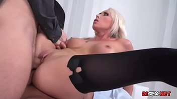 handjob forced double Feisty blonde babe keira nicole pussy pounded on the bed