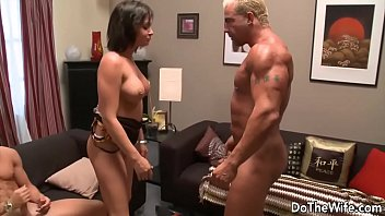 masterbating fuck another wife watching man husband Heavy pussy slapping