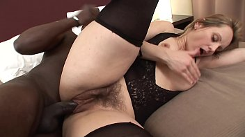 pounces milf new roommate leopard Ghetto skank gets her dirty mouth pounded