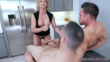 scares daughter ebony daddy Japanese step son fucking his ketchen big titl mom