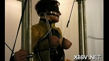 harness bondage head japanese Alexis texas in hot 3some