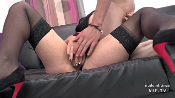 natalie casting couch Lesbian close up grinding